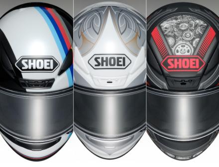 SHOEIのフルフェイスヘルメット・Z-7に、新グラフィック3パターンが登場