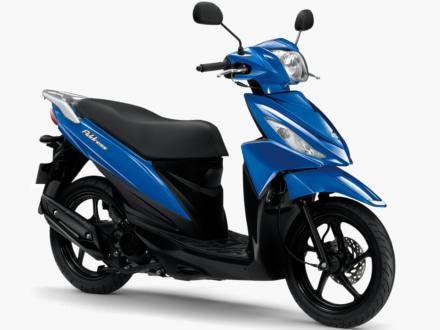 新色ブルーが追加された2018年モデルのアドレス110が、3月26日より販売を開始!