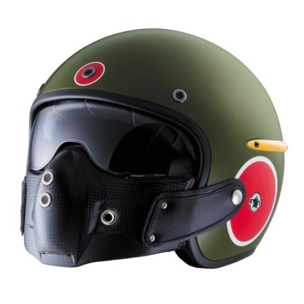 HARISSONより、ゼロ戦をモチーフにしたヘルメット『ZERO』が登場