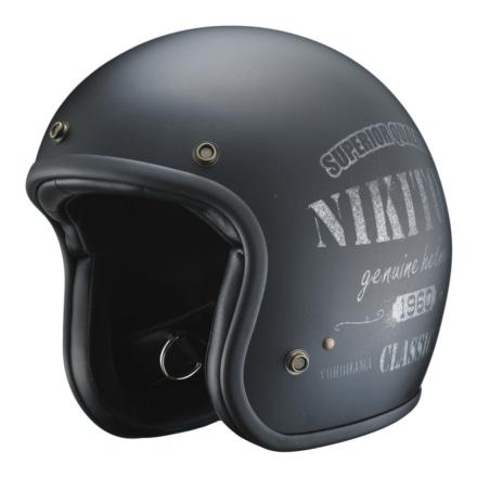 NIKITORより、ビンテージな風合いのヘルメット『Stencil』が登場