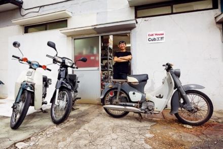 風まかせNo.58に掲載した『バイク世間噺大系』をスーパーカブシリーズ登場記事アーカイブに追加しました