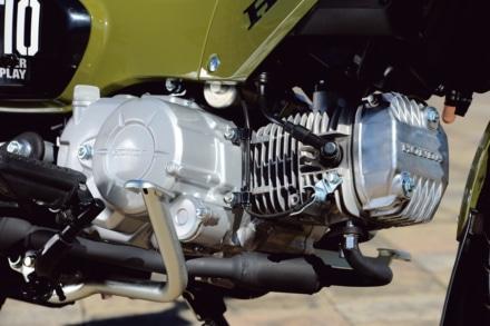クロスカブ110のエンジン