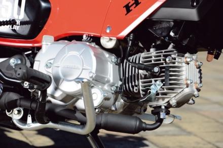 CROSSCUB50のエンジン