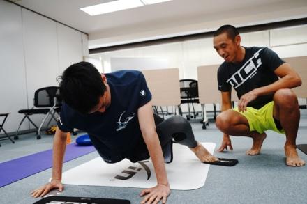 【レポート】青木宣篤氏も取り組んでいる体幹強化!げんき堂整骨院 パーソナルトレーニング体験会