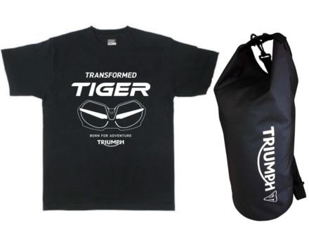 トライアンフ New タイガーデビューフェアーが3月10日からスタート!試乗でオリジナルTシャツをゲット