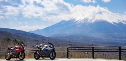 最高の山と最高のバイク達