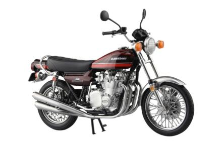 AOSHIMA 1/12 完成品バイクシリーズに『Z1』と『Z2』が登場