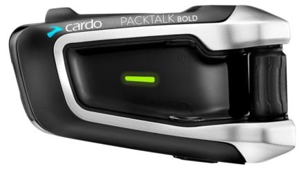 米CARDO製のメッシュシステム採用インカム『PACKTALK BOLD』が登場