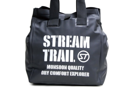 StreamTrailより、防水汎用トートバッグ『Wet Tote Bag 35L』が登場