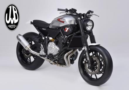 このカスタムがボルトオンで!? JvB MotoのXSR700用カスタムパーツが日本上陸!
