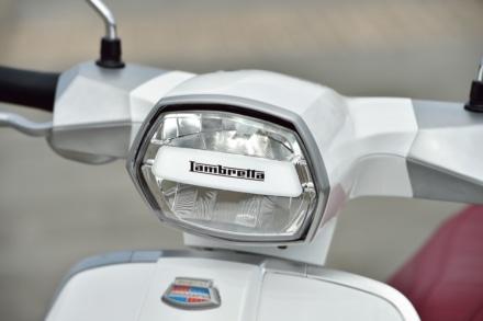 LAMBRETTAのV125Speciaのメーター