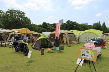 【レポート】コールマンのイベントで、キャンプツーリングの楽しさを提案をしてきたぞ!