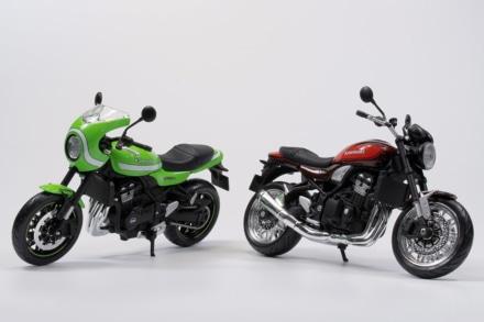 AOSHIMA 1/12 完成品バイクにKAWASAKI Z900RS & Z900RS CAFEが登場
