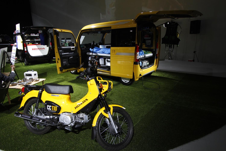 ホンダ・Nバンにはバイクも載る