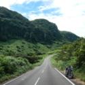 平戸の隣島(生月島)の農免道路