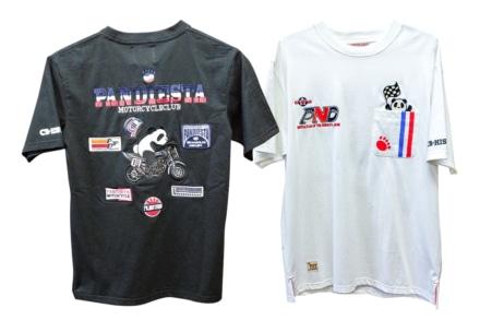 History別注の愛くるしいTシャツ『パンディエスタ  熊猫スーパーバイク CB750F Tシャツ』が登場
