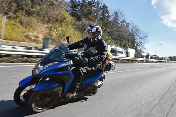 ヤマハのTRICITY155で高速道路を試乗インプレッション