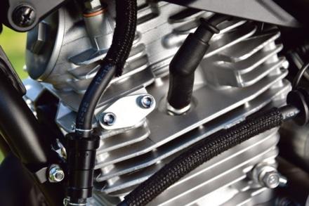 ヤマハの新型セロー250はガスケットが薄くなり圧縮比がアップ!