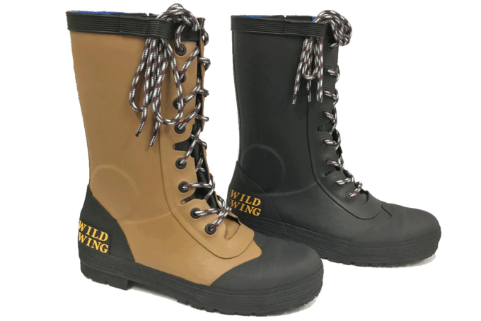 ウィングローブ WILDWING長靴「フラミンゴ」