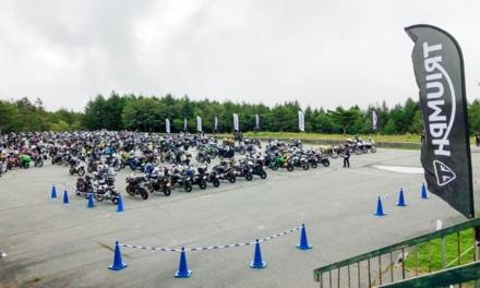 2018 トライアンフナショナルラリー開催レポート