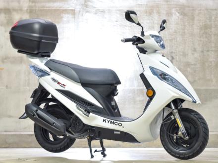 トップボックスorヘルメットをプレゼント!KYMCO GP125iが2018年10月1日より販売開始