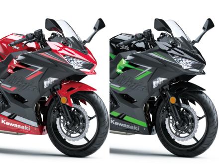 カラーバリエーションを一新した2019年モデルのKAWASAKI Ninja400が10月1日より販売開始!