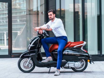 30台限定!専用パーツ装着でお値段据え置きのPEUGEOT DJANGO125に特別モデルが登場