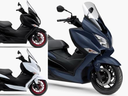新色ブルーが追加された2019年モデルのSUZUKI BURGMAN400 ABSが、9月25日より販売開始!