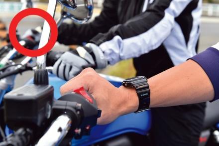 バイクのアクセルの良い握り方