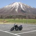 富士山ではありません 大山です。
