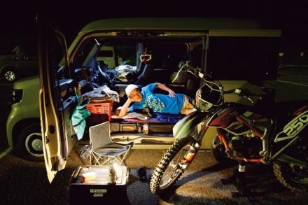 すごいぞホンダセンシング!N-VANにバイクを積んで走行&車中泊してみた