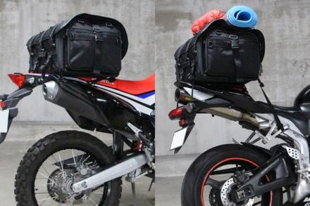 【積んでみた】IGAYAのシートバッグは細身のバイクでも大丈夫!『キャンプツーリングシートバッグ』をレビュー