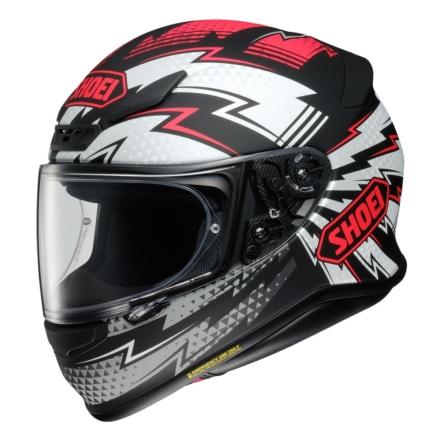 SHOEIからイナズマ柄が目を引くフルフェイスヘルメット『Z-7 VARIABLE』が登場