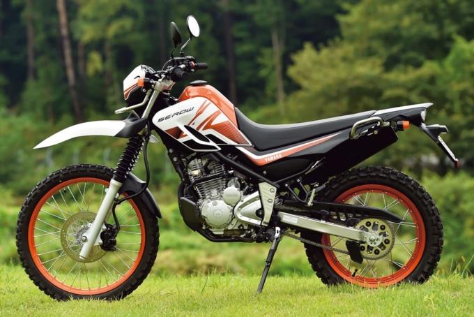 新型セロー250の左サイドイメージ