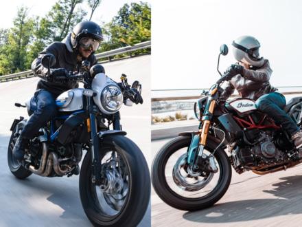 INTERMOT2018 DUCATI・INDIAN Motorcycle 新型スクランブラーやトラックレーサー由来のニューモデルが発表に!