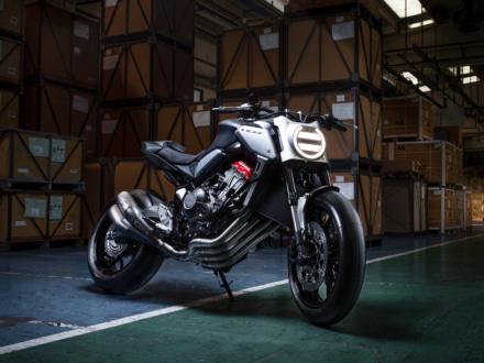 ネオスポーツカフェシリーズに650ccモデルが登場!? INTERMOT2018で、CB650Rのコンセプトモデルが発表