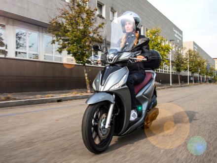 KYMCOから、新型ハイホイールスクーター・TERSELY Sシリーズが登場! 125ccと150ccをラインナップ
