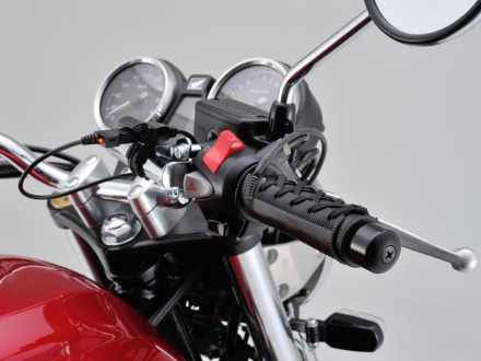 DAYTONAの巻きつけるグリップヒーター『HOT GRIP 巻きタイプ EASY』にUSB給電モデルが登場