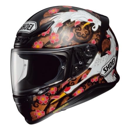 SHOEIから雅なグラフィックが目を引くフルフェイスヘルメット『Z-7 TRANSCEND』が登場