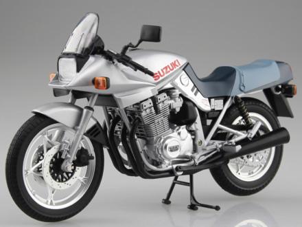 SKYNET 1/12完成品バイクシリーズに、スズキの名車・GSX1100S KATANAが登場!