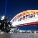 神戸大橋と新しい相棒