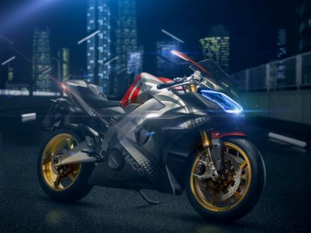 速さだけでなくファンな乗り味も追求!KYMCOから電動スーパースポーツモデル・Super NEXが発表に