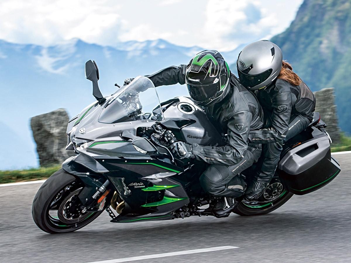 Ninja H2 SXシリーズに新モデルが登場!EICMA2018でKAWASAKIからNinja H2 SX SE+が発表に