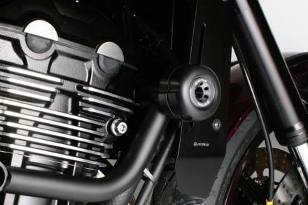 ACTIVEからサブフレームと併用できるZ900RS用フレームスライダーが登場