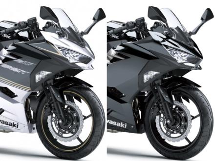 カラバリを一新し、ブラック&シルバーの2色展開に!2019年モデルのKAWASAKI Ninja250が登場