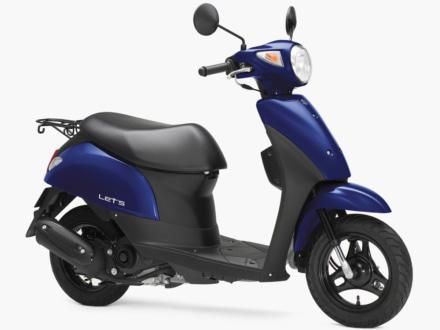 新色ブルーが追加!カラバリを変更したSUZUKI LET'S/BASKETの2019年モデルが登場