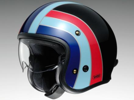 クラシカルなデザインの新グラフィック・NOSTALGIAが、SHOEIのジェットヘルメットJ・Oに登場!