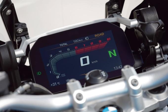 BMW R1250GS/HPの液晶メーター