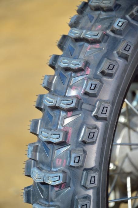 バトルクロスE50のブロックパターン