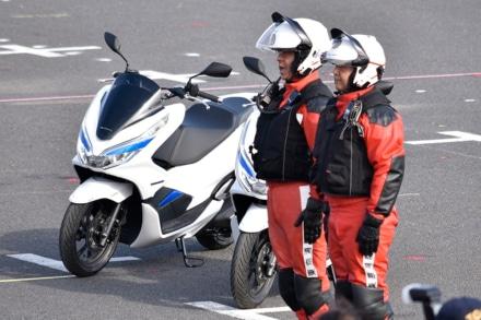 PCX ELECTRICも配属! 東京消防出初式 レポート